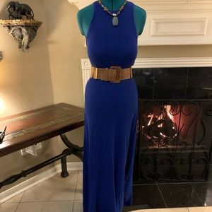 Royal blue maxi